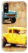 Fastest Car In The Valley IPhone Case