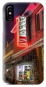 Fat City Cafe IPhone Case