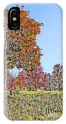 Favoring The Fall Colors IPhone Case