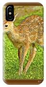 Fawn Poster Image IPhone Case