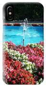 Fbi Academy Fountain IPhone Case