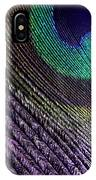 Feather Of A Different Color IPhone Case