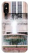 Federal Building Fountain IPhone Case