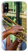 Feel It - New Orleans Jazz  IPhone Case