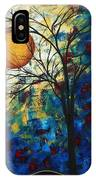 Feel The Sensation By Madart IPhone Case