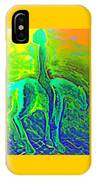 Feeling Free Now And Enjoying The Green Landscape But Will Accept My Destiny And Surrender Anyway   IPhone Case
