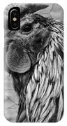 Felicia's Raving Rooster IPhone Case