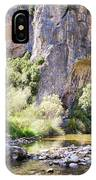 Female Climber, On A Beautiful Route IPhone Case