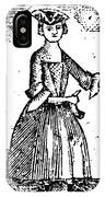 Female Continental Soldier IPhone Case