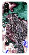 Female Pheasant Abstract IPhone Case
