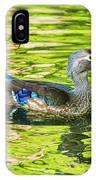 Female Wood Duck IPhone Case