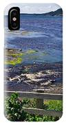 Fence Along Rocky Harbour-nl IPhone Case