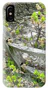 Fence And Beach Shrub IPhone Case