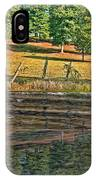 Fence Reflection IPhone Case