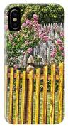 Fenced Beauty IPhone Case