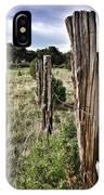 Fences Not Borders IPhone Case