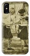 Fencing Practice IPhone Case