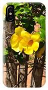 Fency Free Brazlian Flowers IPhone Case