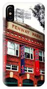 Fenway Park In October 2013 IPhone Case