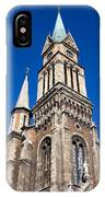 Ferencvaros Church Tower In Budapest IPhone Case