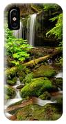 Fern Falls Panoramic IPhone Case
