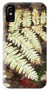 Fern In The Forest IPhone Case