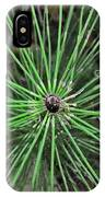 Fern Like A Spider IPhone Case