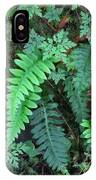 Ferns Along The Columbia River IPhone X Case