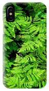 Ferns And Fauna IPhone X Case