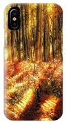 Ferns On The Forest Floor IPhone Case