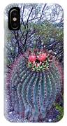 Ferocactus Wislizenii IPhone Case