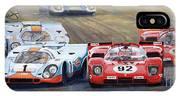 Ferrari Vs Porsche 1970 Watkins Glen 6 Hours IPhone X Case