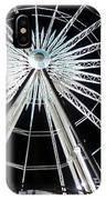 Ferris Wheel 8 IPhone Case