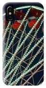 Ferris Wheel After Dark IPhone Case