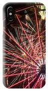 Ferris Wheel And Fireworks IPhone Case