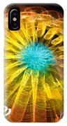 Ferris Wheel Flower IPhone Case