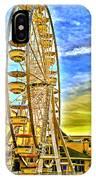 Ferris Wheel In Lb IPhone Case