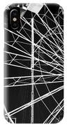 Ferris Wheel Lines IPhone Case