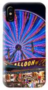 Ferris Wheel Rides And Games IPhone Case