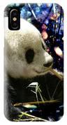 Festive Panda IPhone Case