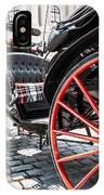 Fiaker Carriage In Vienna IPhone Case