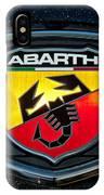 Fiat Abarth Emblem IPhone Case
