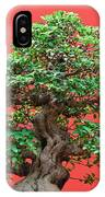 Ficus Bonsai IPhone Case