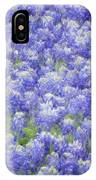 Field Of Bluebonnets IPhone Case