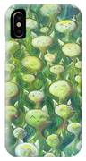 Field Of Cats IPhone Case