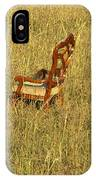 Field Of Chair IPhone Case