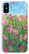 Field Of Pink For The Ladies IPhone Case