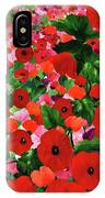 Field Of Poppies IPhone X Case