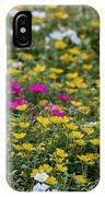 Field Of Pretty Flowers IPhone Case