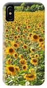 Field Of Smiles IPhone Case